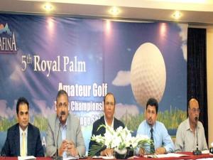 Khawaja Pervaiz Saeed Lahore Golf Trophy at Royal Palm