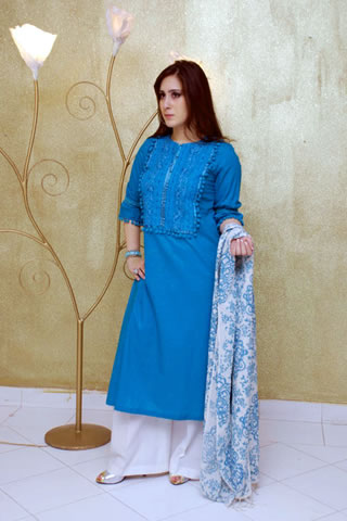 Cute Girl in Maria B. Eid Collection