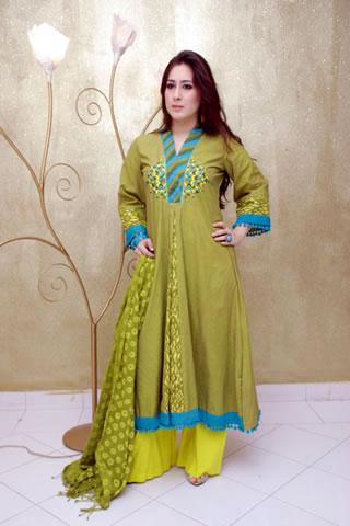 Beautiful Girl in Maria B. Eid Collection