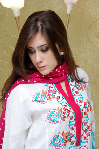 Hot Girl in Maria B. Eid Collection