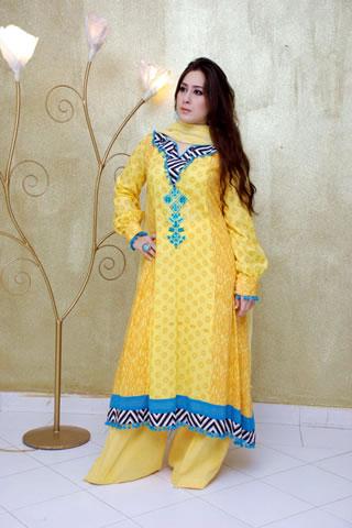 Desi Model in Maria B. Eid Collection