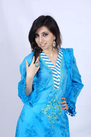 Cute Model in Maria B. Eid Collection