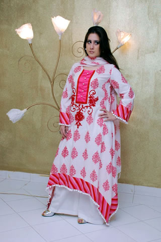 Hot Model in Maria B. Eid Collection