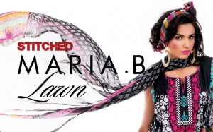 Maria B. Stitched Summer Lawn Collection 2011