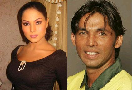 Mohammad Asif and Veena Malik Scandle