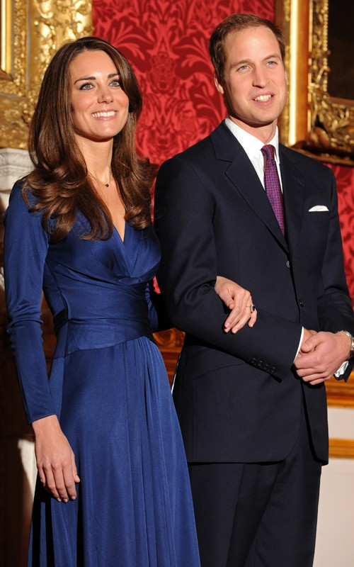 Prince William and Kate Middletons at Engagement Ceremoney