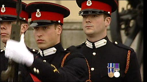 Prince William in Millitary Uniform