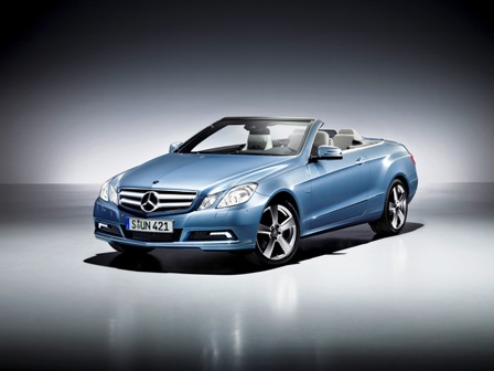 The E-Class Mercedes Benz Cabriolet