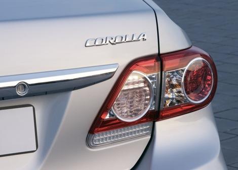 Toyota Corolla 1.3L GLi Backlight