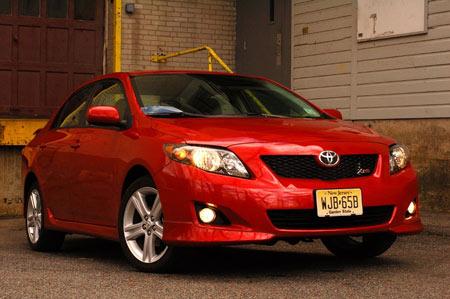 Toyota Corolla 1.3L GLi Red Colour