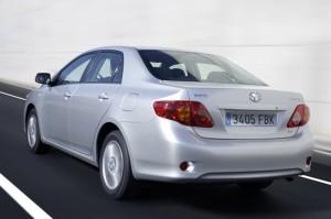 Toyota Corolla 2.0D Back View