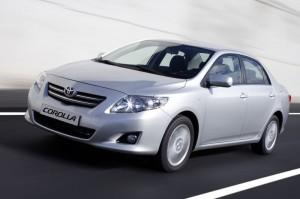 Toyota Corolla 2.0D Front Lights