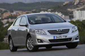 Toyota Corolla 2.0D Tyres and Rims