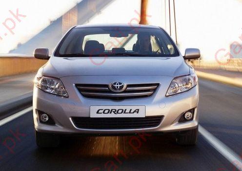 Toyota Corolla XLi Front View