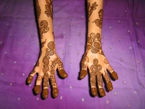 Arabic Mehndi Design for Both Hands