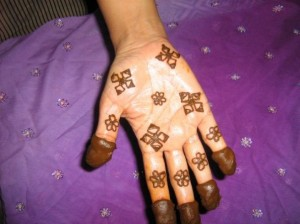 Lates Mehndi Design for Hand