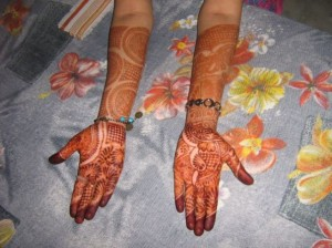 Arabic Full Hand & Arm Mehndi Design