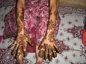 Arabic Henna Designs for Outside Hands