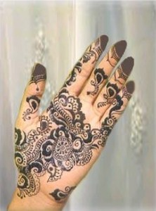 Arabic Mehndi Design 2010