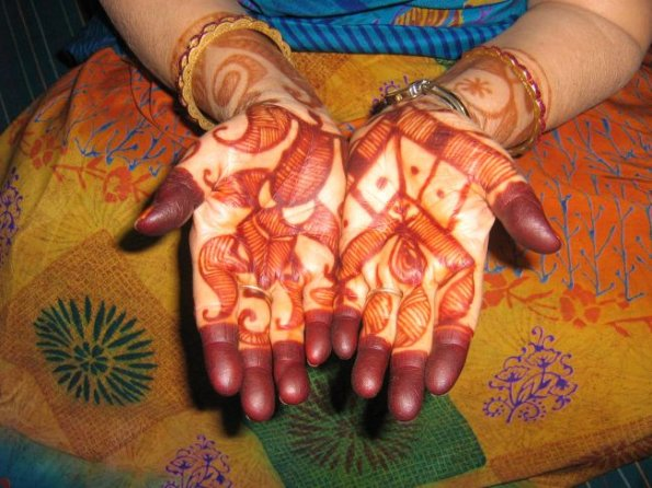 Asian Bridal Mehandi Designs