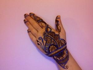 Wedding Henna Design For Hand
