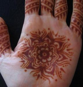 Henna Design for Both Hands