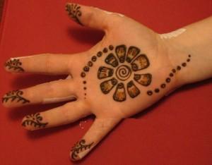Full Hand Henna Design