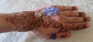 Pakistani Bridal Henna Design 2011