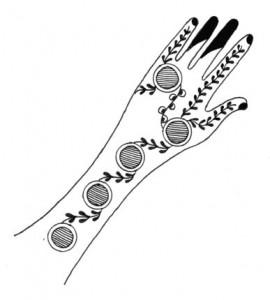 Full Hand & Arm Mehndi Designs on Paper