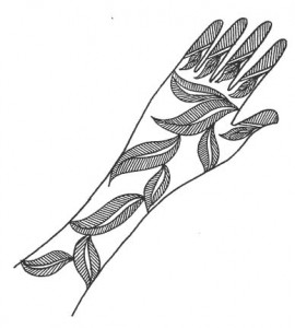 Henna Designs on Paper Pictures