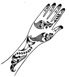 Latest Henna Designs on Paper for Hand