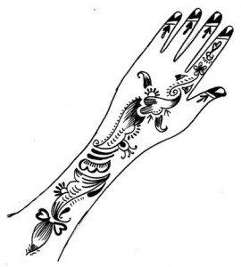 New Henna Designs on Paper for Hands