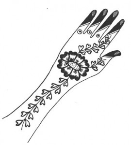 Henna Designs on Paper 2011