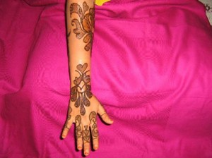 Beautiful Bridal Henna Design