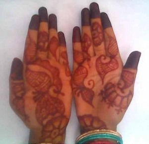 Pakistani Mehndi Design for Hand