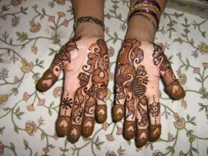 Bridal Mehndi Design for Inside Hand