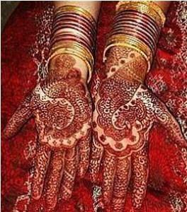 New Bridal Mehndi Design 2011