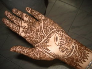 New Bridal Mehndi Design 2011