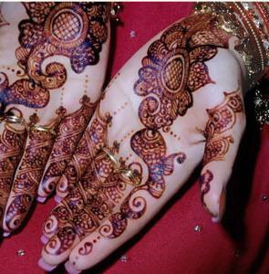 Pakistani Bridal Mehndi Design 2011