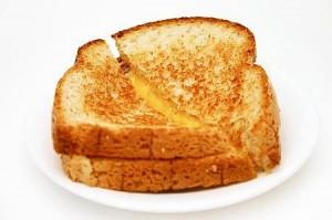 Crunchy Chicken Cheese Sandwiches