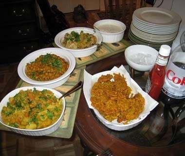 Dishes for Ramazan