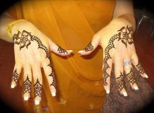 Full Hand & Arm Mehndi Design