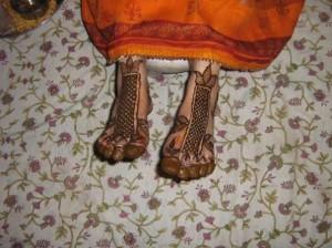 Full Foot Mehndi Design