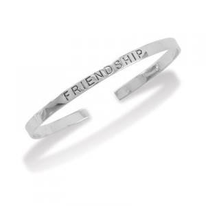 Friendship Inscribed Cuff
