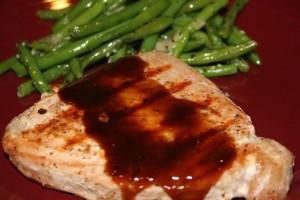 Glazed Tuna Steaks