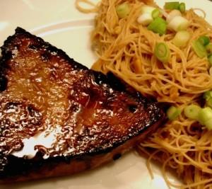 Grilled Glazed Tuna Steaks