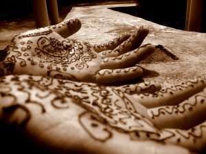 Cute Henna Design Photo