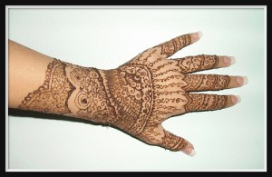 Pakistani Bridal Henna Design