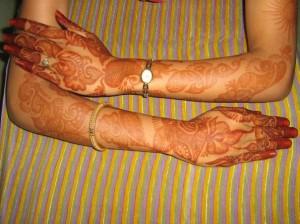 Full Hand & Arm Henna Design For Eid
