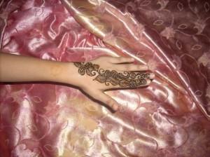Henna Design For Eid for Outside Hands